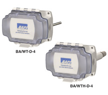 BAPI Wireless Duct Temperature &amp; Humidity Transmitters BA/WT(H)-D